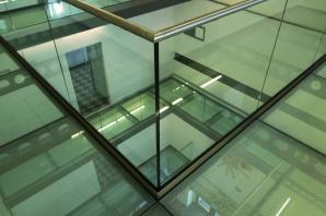 protipožární podlahy, digitální keramický tisk protiskluzového rastru