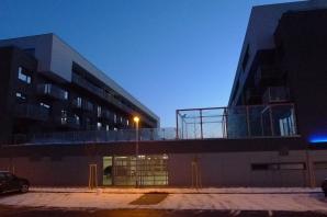 skleněné dveře a světlíky Campus