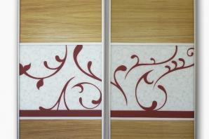 Realizace dveře do vestavěné skříně se vzorem