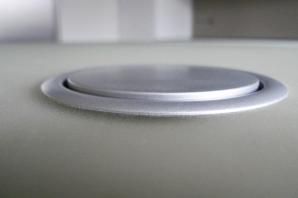 skleněný obklad a skleněná pracovní deska Greytech - Luxraff stone