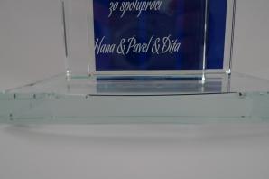 skleněný pohár Greytech
