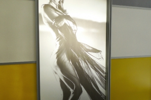 Systémy posuvných dveří Greytech - showroom Valmez